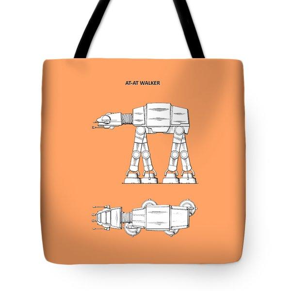 Star Wars - At-at Patent Tote Bag