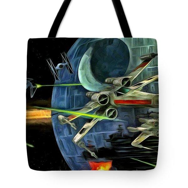 Star Wars Battle Tote Bag