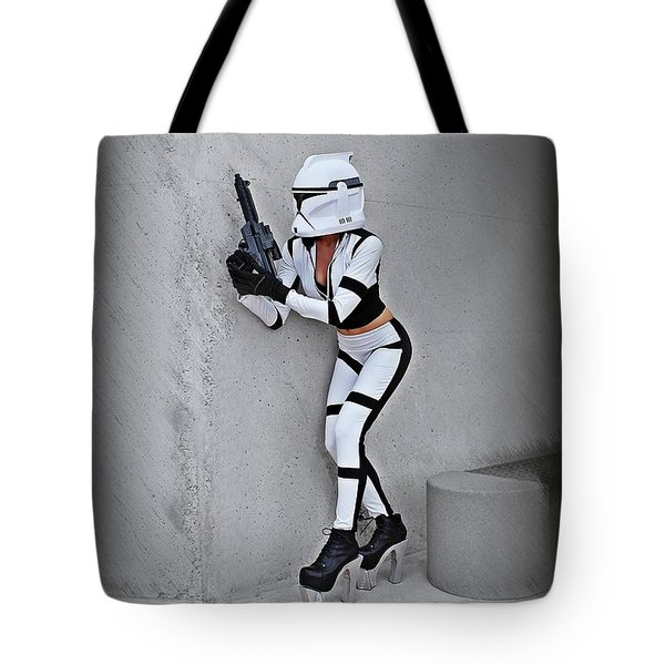 Star Wars By Knight 2000 Photography - Armor Tote Bag