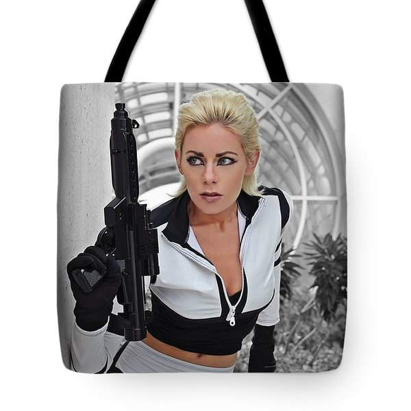 Star Wars By Knight 2000 Photography - Lookout Tote Bag by Laura Michelle Corbin