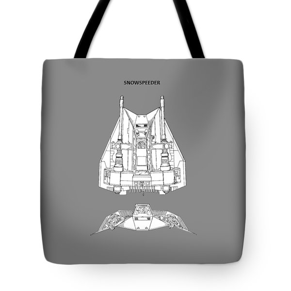 Star Wars - Snowspeeder Patent Tote Bag