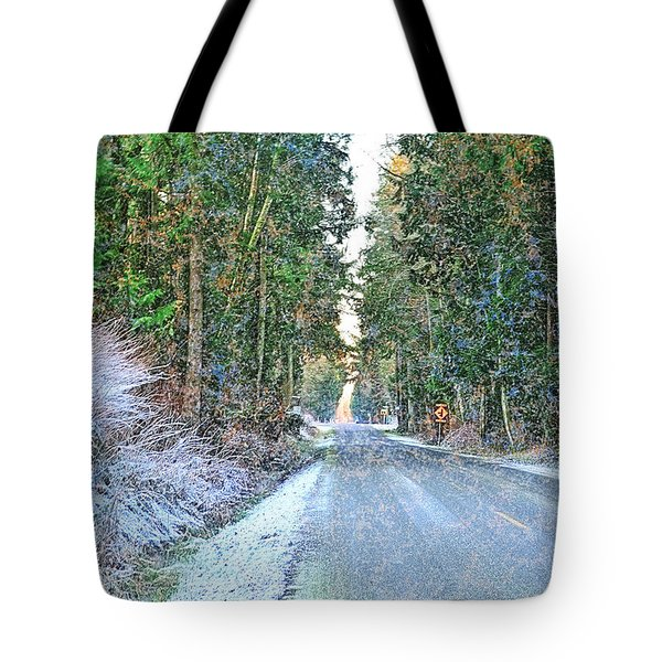 Starbird Road Tote Bag