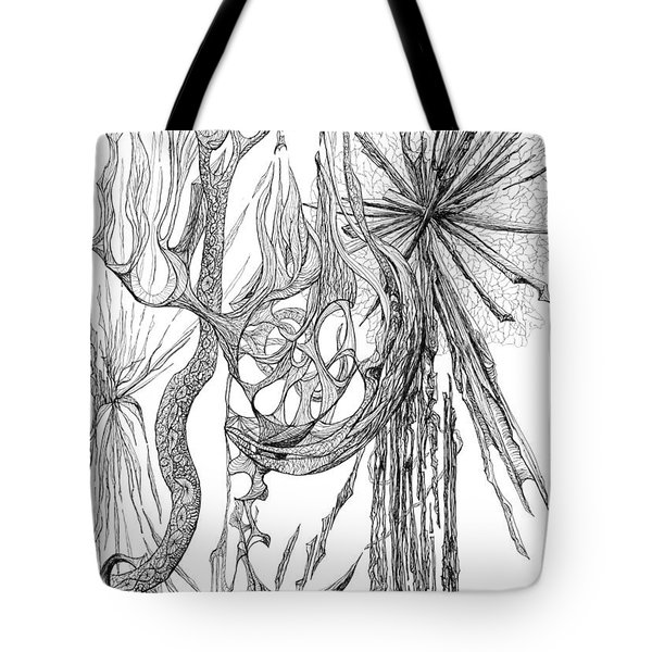 Starburst Tote Bag by Charles Cater