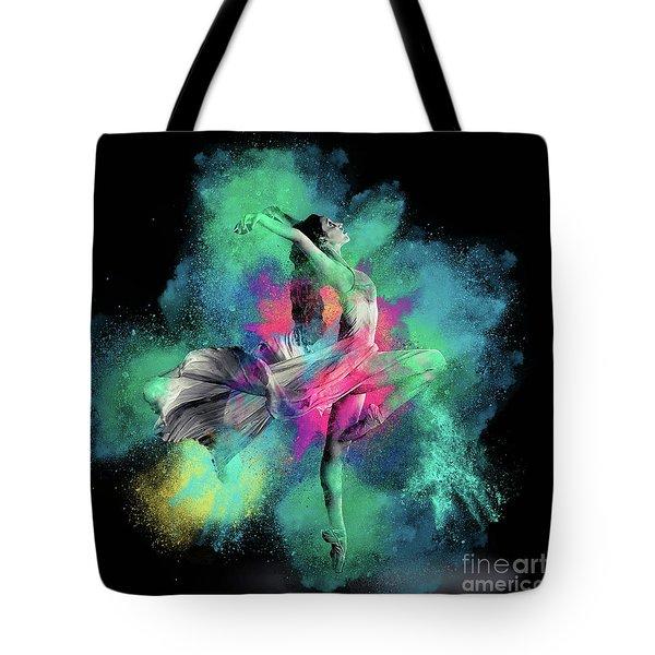 Stardust Dancer Tote Bag