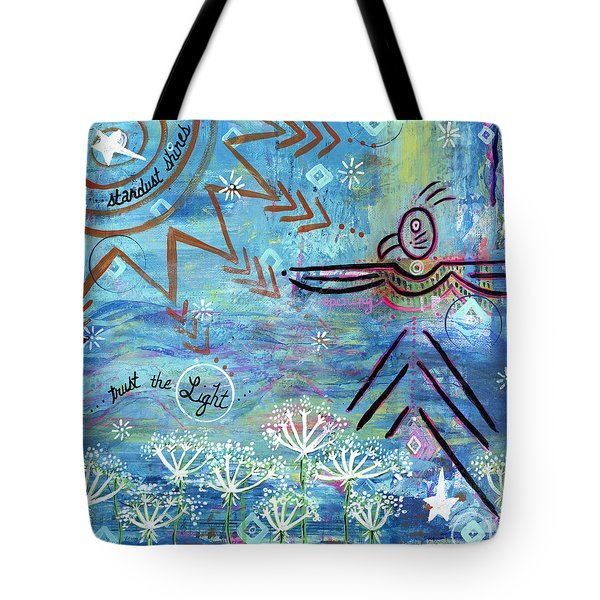 Stardust Shines Tote Bag
