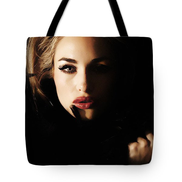 Stare Tote Bag by Clayton Bruster