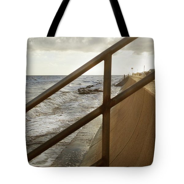 Stare Through The Lines Tote Bag