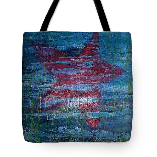 Starfish 3 Tote Bag by Judi Goodwin