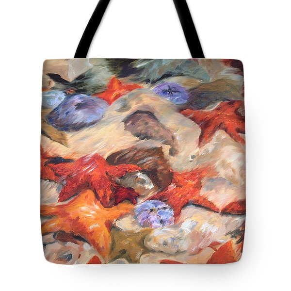 Starfish Tote Bag by Enzie Shahmiri