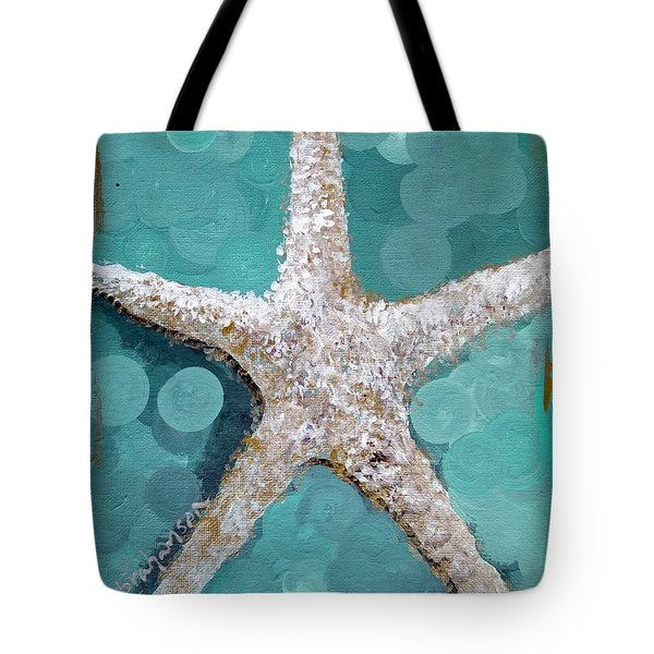 Starfish Goldie Tote Bag