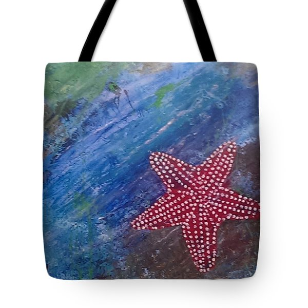 Starfish Tote Bag by Judi Goodwin