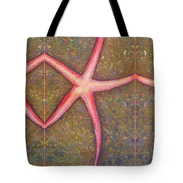 Starfish Pattern Bar Tote Bag