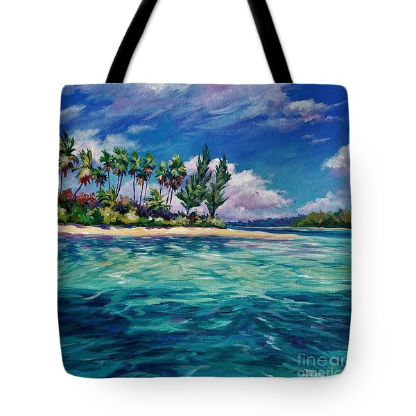 Starfish Point Square Tote Bag