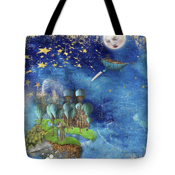 Starfishing In A Mystical Land Tote Bag