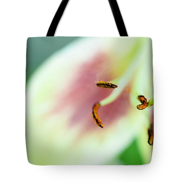 Stargazer Lily Tote Bag by Marlo Horne