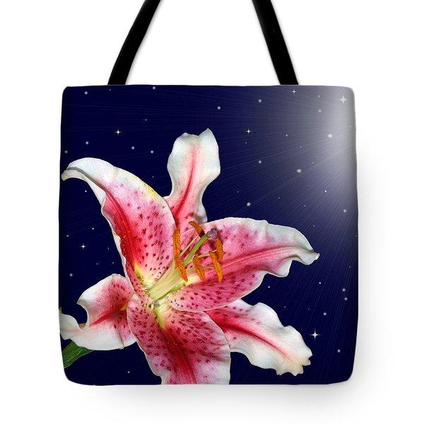 Stargazing Tote Bag by Kristin Elmquist