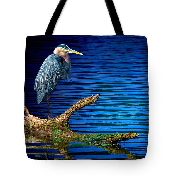 Starin' Heron 2 Tote Bag by Brian Stevens