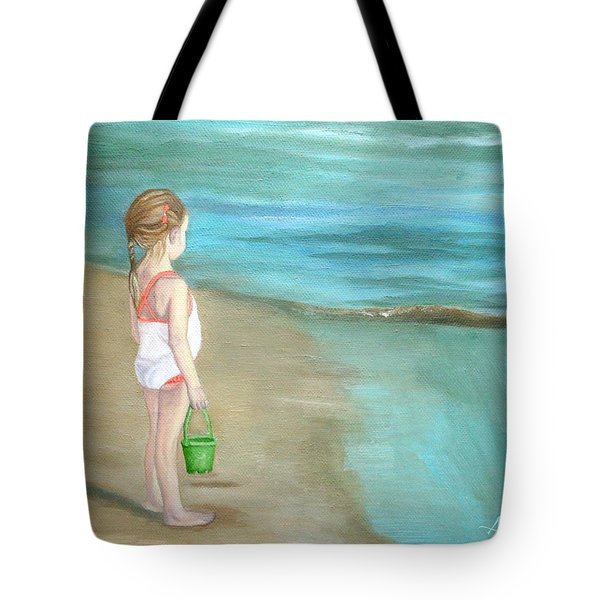 Staring At The Sea Tote Bag