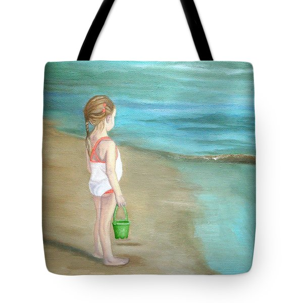 Staring At The Sea Tote Bag