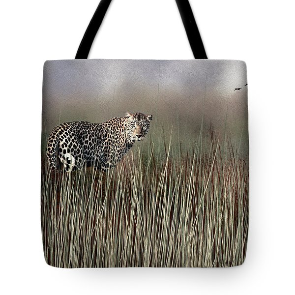 Staring Back Tote Bag by Diane Schuster