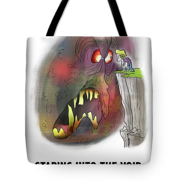 Staring Into The Void Tote Bag