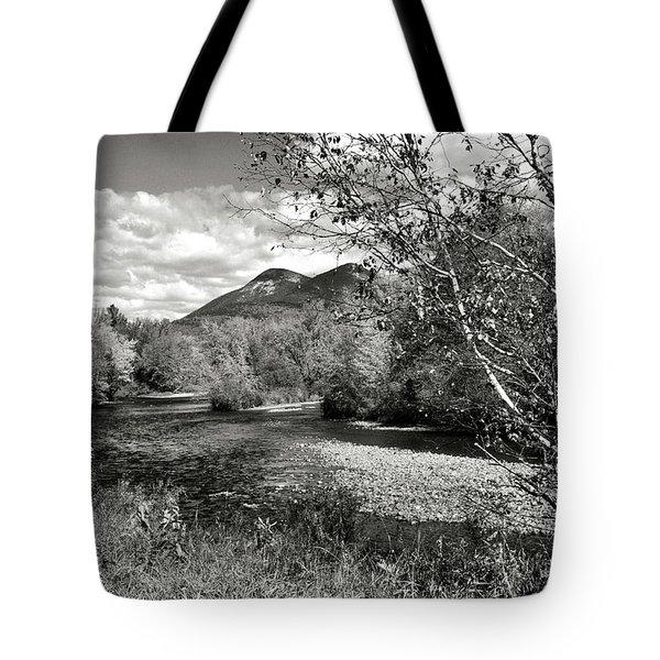 Stark, Nh Back Road  Tote Bag