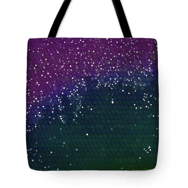Starlight Through Trees Tote Bag