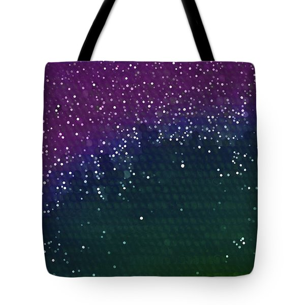 Starlight Through Trees Tote Bag