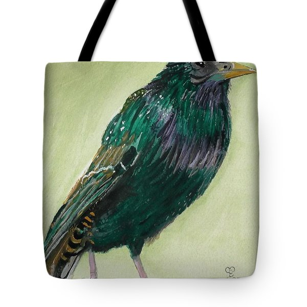 Starling Tote Bag by Carole Robins
