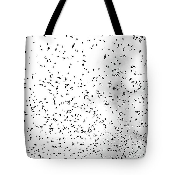Starlings Tote Bag by Colleen Williams