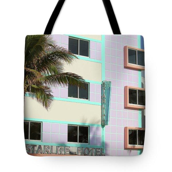 Starlite Hotel - Miami Beach Tote Bag