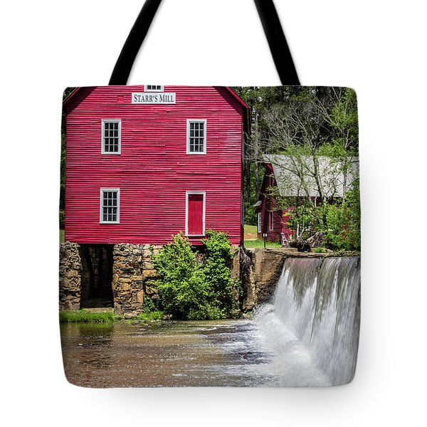 Starr's Mill 1 Tote Bag