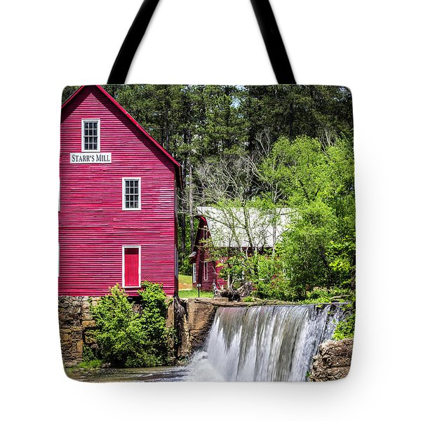 Starr's Mill 2 Tote Bag