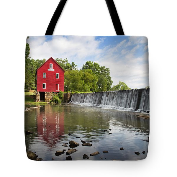 Starr's Mill Tote Bag by Sally Simon