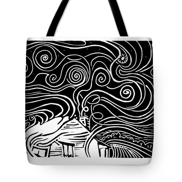 Starry Cabin Tote Bag