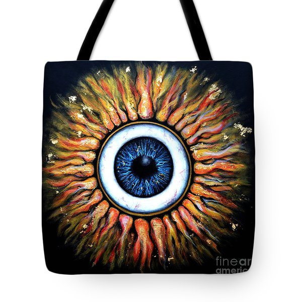 Starry Eye Tote Bag