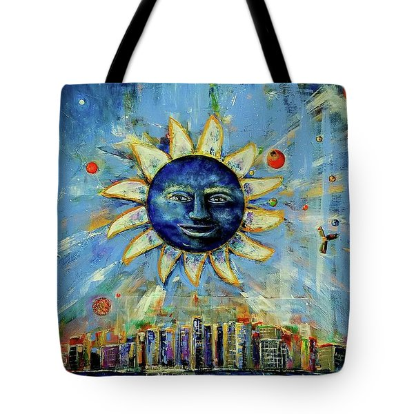 Starry Night 2017 Tote Bag