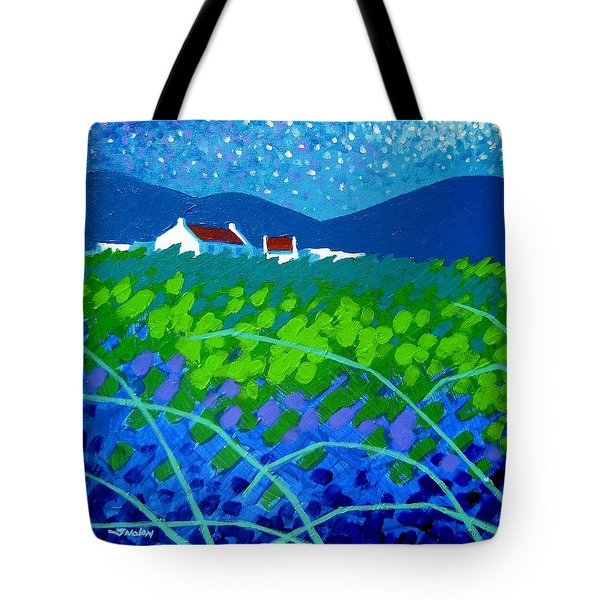 Starry Night In Wicklow Tote Bag by John  Nolan