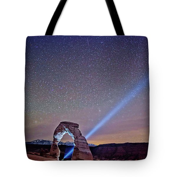 Starry Night Pointer Tote Bag