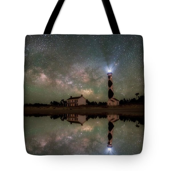 Starry Reflections Tote Bag