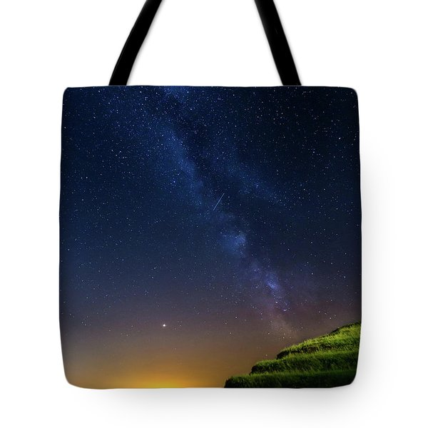 Starry Sky Above Me Tote Bag