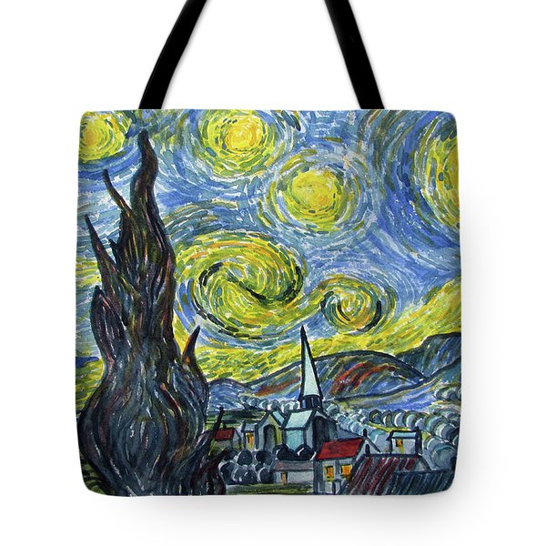 Starry, Starry Night Tote Bag