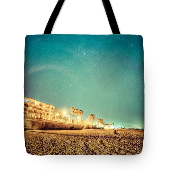Starry Starry Pacific Beach Tote Bag