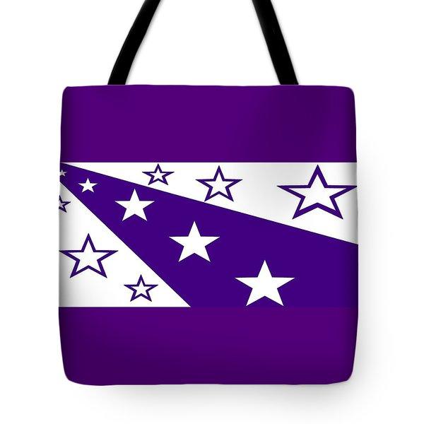 'stars 21' Or 'purple Stars' Tote Bag