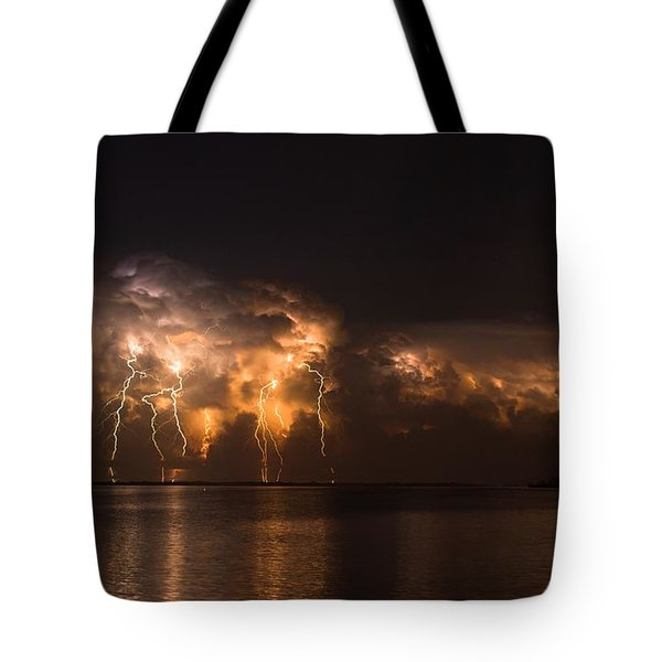 Stars And Bolts Tote Bag