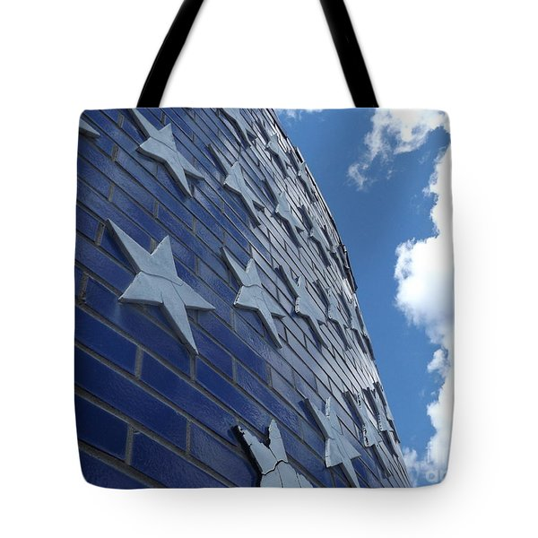 Stars And Stripes Tote Bag by Erick Schmidt
