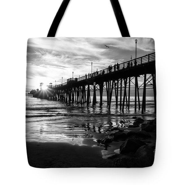 Stars And Swirls In Oceanside Tote Bag