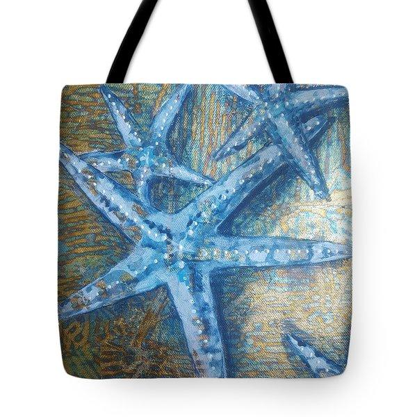 Stars In The Sea Tote Bag