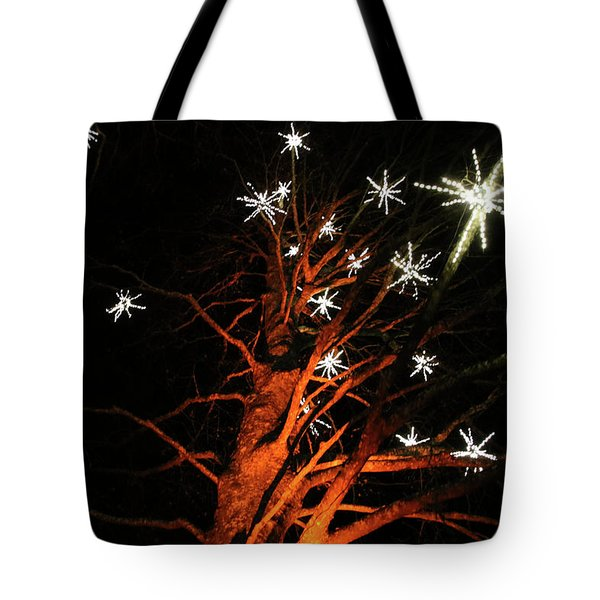 Stars In The Tree Tote Bag