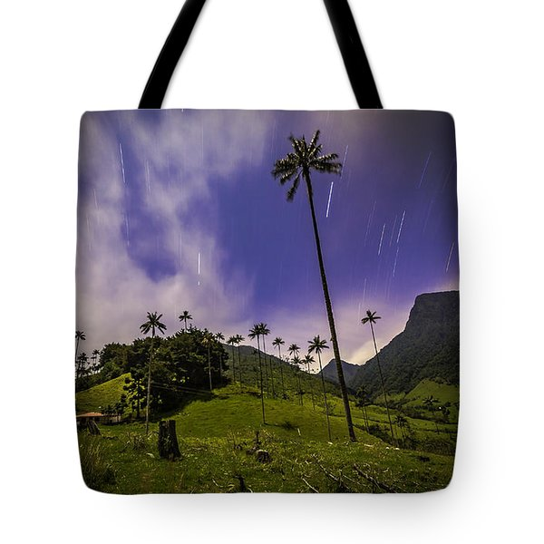 Stars In The Valley Tote Bag